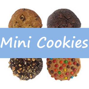 Mini Cookies - Jake's Desserts